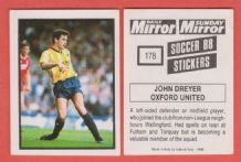 Oxford United John Dreyer